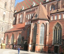 Wroclaw: костел Елизаветы (St. Elizabeth's Church)